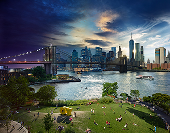©Stephen Wilkes, Brooklyn Bridge