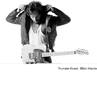 Eric Meola - Bruce Springsteen, Born to Run