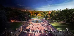 "Stephen Wilkes, ""Bethesda Fountain"""